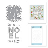 Festive Noel Etched Dies from Sparkling Christmas Collection