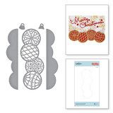 Christmas Ornament Border Etched Dies from Sparkling Christmas Collection