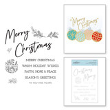 To You and Yours Clear Stamp Set from Sparkling Christmas Collection