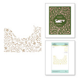 Christmas Foliage Background Glimmer Hot Foil Plate from Yana's Christmas Foiled Basics Collection by Yana Smakula
