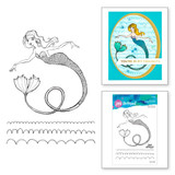Glorious Mermaid Clear Stamps from the Stamp Camp Collection by Jane Davenport