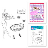 Beautiful Dreamer Clear Stamps from the Stamp Camp Collection by Jane Davenport