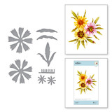 Coreopsis Etched Dies from Susan's Autumn Flora Collection by Susan Tierney-Cockburn