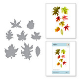 Woodland Garden Leaves Etched Dies from Susan's Autumn Flora Collection by Susan Tierney-Cockburn