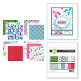 Holly Jolly Prints Printed Paper from the FSJ Christmas 2020 Collection