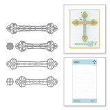 Kaleidoscope Cross Etched Dies from Faith Collection