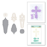 Gleaming Cross Glimmer Hot Foil Plate & Die Set from Faith Collection