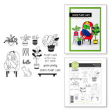 Plant Lady Clear Photopolymer Stamp Set from Take Time for You Collection