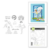 Simply Breathe Clear Photopolymer Stamp Set from Take Time for You Collection