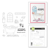 Self Love Clear Photopolymer Stamp Set from Take Time for You Collection