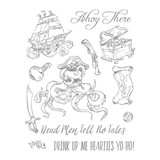 Ahoy There Stamp Set