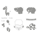 Animal Nursery Stamp Set