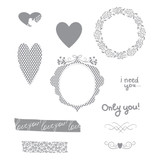 Only You Stamp Set