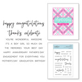 Build a Sentiment Clear Stamp Set by Spellbinders