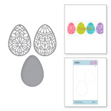 Forever Spring Eggs Etched Dies from Expressions of Spring Collection