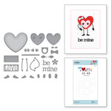 Dancin' Hearts Etched Dies (add on to Expressions of Love Collection)