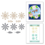 Glimmer Daisy Glimmer Hot Foil Plate & Die Set from Expressions of Spring Collection