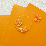 Persimmon Color Essentials Cardstock