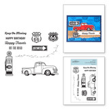 Hit the Road Clear Stamp Set from Cardmaker Stamp Collection