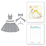 Paper Couture Dress Etched Dies from Truly Yours Collection