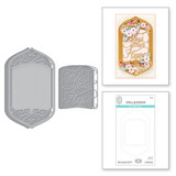 Bless Your Heart Vignette Etched Dies from Beautiful Sentiment Vignettes Collection by Becca Feeken