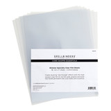 """Glimmer Specialty Clear Film Sheets 8 1/2"""" x 11"""" - 10 pack"""