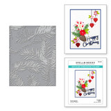Forevergreen Embossing Folder from the Tis the Season Collection