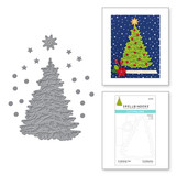 O Christmas Tree Etched Dies from the Trim a Tree Collection