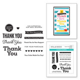 Support Small Business Clear Stamps from the Small Business Special Edition Collection