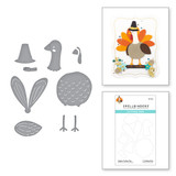 Happy Turkey Day Etched Dies from the Fall Traditions Collection