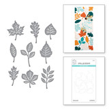 Autumn Leaves Etched Dies from the Fall Traditions Collection