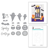 Open House Boo! Etched Dies from the Halloween Collection