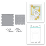 All is Calm Word Frame Etched Dies from the Holiday Medley Collection by Becca Feeken