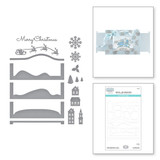 Silent Night Make a Scene Etched Dies from the Holiday Medley Collection by Becca Feeken