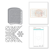 Celebrate Scrollwork Card Builder Etched Dies from the Holiday Medley Collection by Becca Feeken