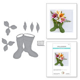 Oriental Lily and Wellies from Garden Club by Susan Tierney-Cockburn