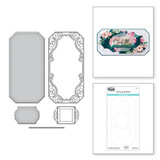 Flourished Sonata Notecard Etched Dies from Sweet Serenade Notecards Collection by Becca Feeken