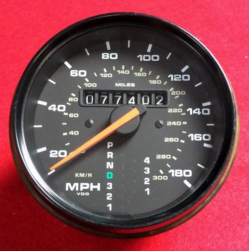 911 964 Speedometer Odometer 89-94 Tiptronic (96464152700)