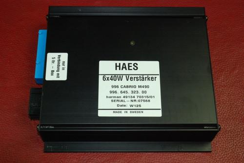 Porsche 911 996 Carerra HAES Verstarker Amplifier Amp Radio Audio 99664532300