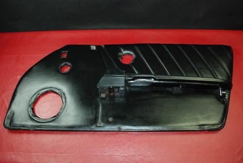 Porsche 911 Carrera Right Passenger Side Door Panel Black Leather Genuine OEM
