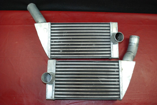 01-05 Porsche 911 996 Twin Turbo Inter Cooler Intercooler Left Right Pair OEM