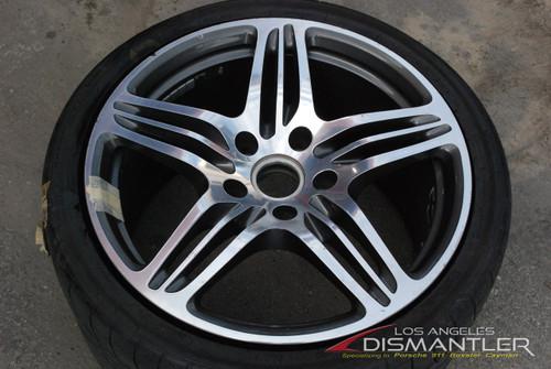 Porsche 911 997 Turbo Left Rear Wheel Rim 11x19 ET51 997.362.162.02 Factory OEM