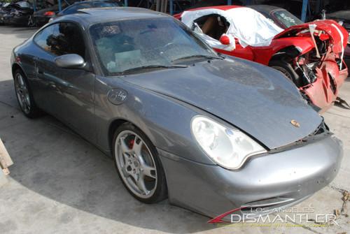 2002 Porsche 996 Grey Coupe