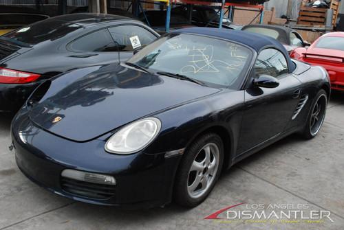 2005 Porsche 987 Boxster Blue