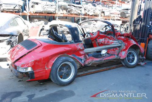 1984 Porsche 911 Red