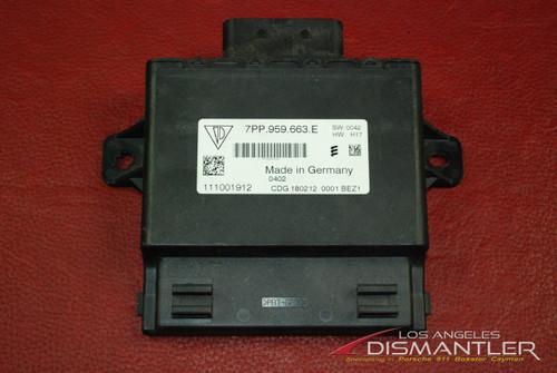 Porsche Panamera Voltage Converter Control Unit 7pp959663E Start Stop Module