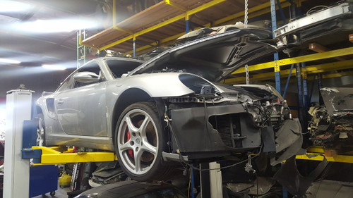2008 997TT Racecar Project Chassis