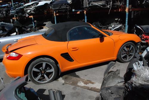 2008 987 Boxster Orange