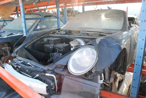 Black 997 Carrera Cabriolet