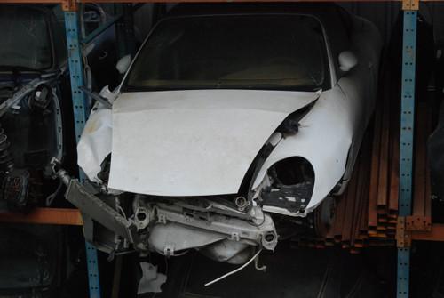 1999 White 996 Carrera Cabriolet